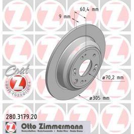 OTTO ZIMMERMANN GMBH Brzdový kotouč 280.3179.20