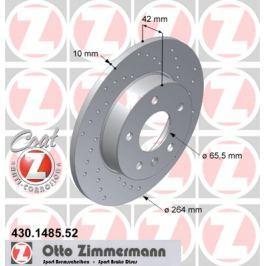 OTTO ZIMMERMANN GMBH Brzdový kotouč 430.1485.52