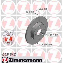 OTTO ZIMMERMANN GMBH Brzdový kotouč 430.1489.20