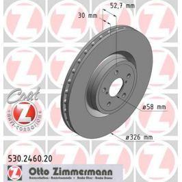 OTTO ZIMMERMANN GMBH Brzdový kotouč 530.2460.20