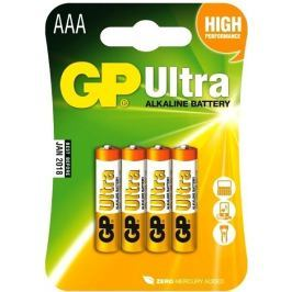 Baterie GP Ultra AAA 4ks
