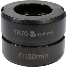 Náhradní čelisti k lisovacím kleštím YT-21735 typ TH 20mm