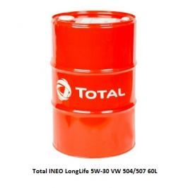 TOTAL Quartz INEO Long Life (504/507) 5W-30 60L SUDY