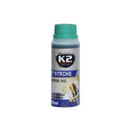 K2  TEXAR 2T STROKE 100ml ZELENÝ - Polosynt. 2takt. olej