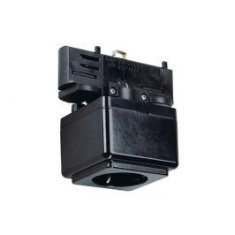 Systémové svítidlo Lištová zásuvka pro tříok.lištu černá 230V - BIG WHITE-PROFESIONA - BP-LA 145700