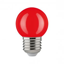 P 28528 LED kapka 2W E27 červená teplá bílá otřesuvzdorná - PAULMANN