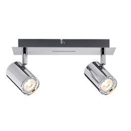Spot LED 2x3,5W Rondo 230V, chrom - Paulmann 60183