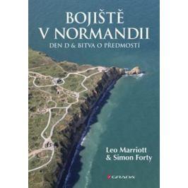 Bojiště v Normandii - Leo Marriott, Simon Forty Knihy