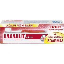 LACALUT Aktiv 75ml + kartáček na zuby