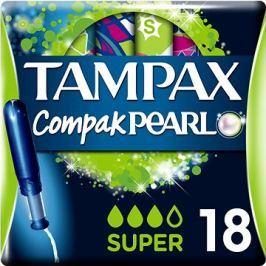 TAMPAX Compak Pearl Super (18 ks)