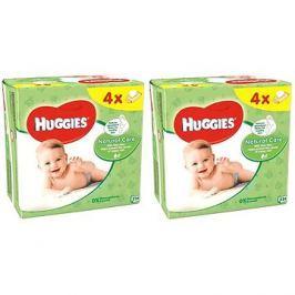 HUGGIES Natural Care Quatro Pack 2× (4× 56 ks)