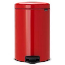 Brabantia, pedálový koš newlcon 20l barva zářivě červená