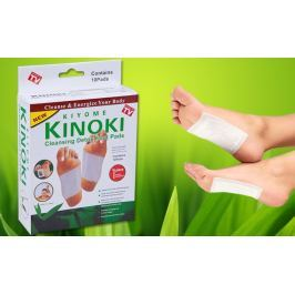 5 x 10 ks detoxikačních náplastí Kinoki Kiyome