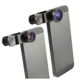 Přídavné objektivy 3v1 pro smartphony Mobily a příslušenství
