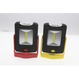 Campingová LED baterka COB + 3LED