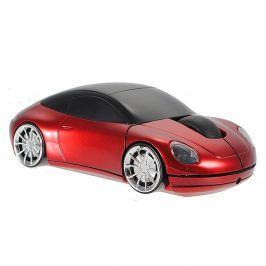 Počítačová myš ve tvaru auta