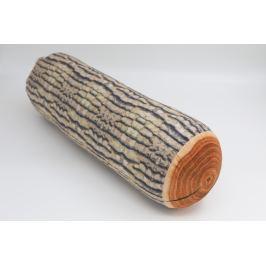 Polštář ve tvaru polena Vzor: Dřevo1