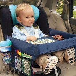 Praktický stolek pro dětskou autosedačku