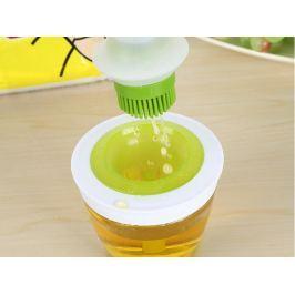 Silikonová mašlovačka se zásobníkem na olej