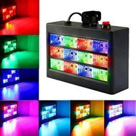 Stroboskopový LED panel reagující na hudbu