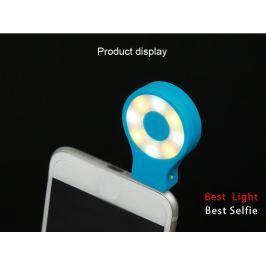 Přídavný blesk do telefonu pro dokonalé selfie