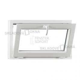 Skladova-okna Sklopné plastové okno PREMIUM 900 x 550 mm barva bílá