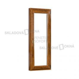 Skladova-okna Jednokřídlé plastové balkónové dveře PREMIUM pravé 700 x 2080