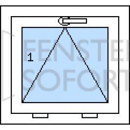 DOPRODEJ! Jednokřídlé plastové sklopné okno PREMIUM