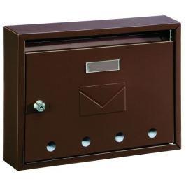 Poštovní schránka paneláková IMOLA-E 32x24x6cm -  bílá