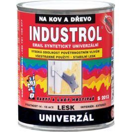 Industrol S2013 0.75l syntetická barva - 8191 červeň rumělk. tmavá