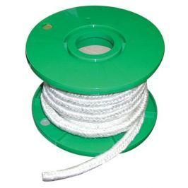Šňůra izolační sklovlákno pletená - 10x10mm