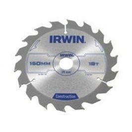 Kotouč pilový ruční konstrukce Irwin - 150x2.5x20mm 18T