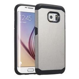 Odolný kryt / pouzdro Spigen Tough Armor pro Galaxy S6 Edge stříbrný
