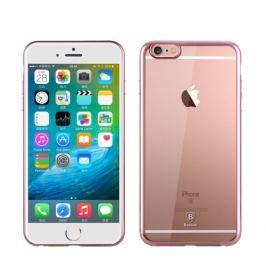 Pružný kryt Baseus Shining pro iPhone 6 / 6S gold rose