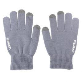 Pánské kapacitní rukavice Hawell pro ovládání dotykových zařízení - šedé