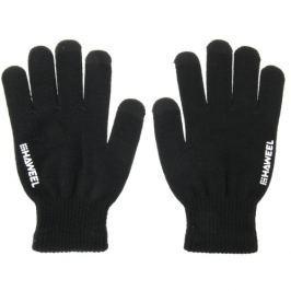 Pánské kapacitní rukavice Hawell pro ovládání dotykových zařízení - černé