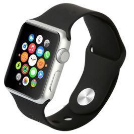 Gumový pásek / řemínek Baseus Fresh pro Apple Watch 38mm černý