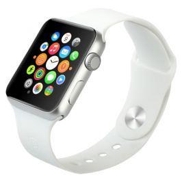 Gumový pásek / řemínek Baseus Fresh pro Apple Watch 38mm bílý