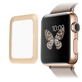 Tvrzené sklo 3D pro Apple Watch 42mm zlatý