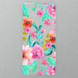 Výměnné akrylové sklo iSaprio Alu pro iPhone 6 / 6S - Flower Pattern 01