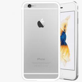Samostatný hliníkový rámeček iSaprio Alu Silver pro iPhone 6 / 6S