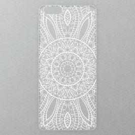 Výměnné akrylové sklo iSaprio Alu pro iPhone 6 / 6S - White Lace 01