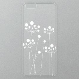 Výměnné akrylové sklo iSaprio Alu pro iPhone 6 / 6S - White Grass 01