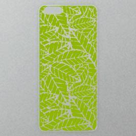 Výměnné akrylové sklo iSaprio Alu pro iPhone 6 / 6S - Green Leafs Pattern