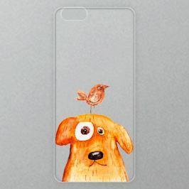 Výměnné akrylové sklo iSaprio Alu pro iPhone 6 / 6S - Dog And Bird