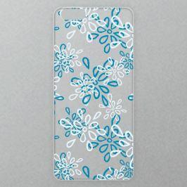 Výměnné akrylové sklo iSaprio Alu pro iPhone 6 / 6S - Blue And White Flower Pattern