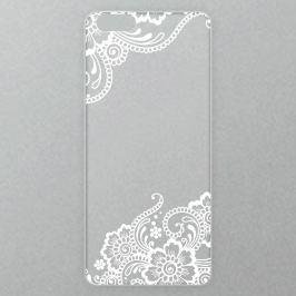 Výměnné akrylové sklo iSaprio Alu pro iPhone 6 / 6S - White Lace 02