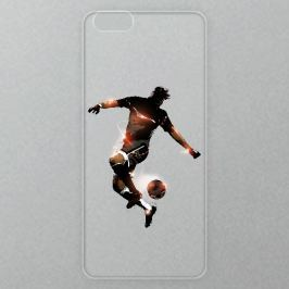 Výměnné akrylové sklo iSaprio Alu pro iPhone 6 / 6S - Fotball 01