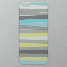 Výměnné akrylové sklo iSaprio Alu pro iPhone 6 / 6S - Color Stripes 02