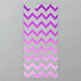Výměnné akrylové sklo iSaprio Alu pro iPhone 6 / 6S - Zigzag - purple